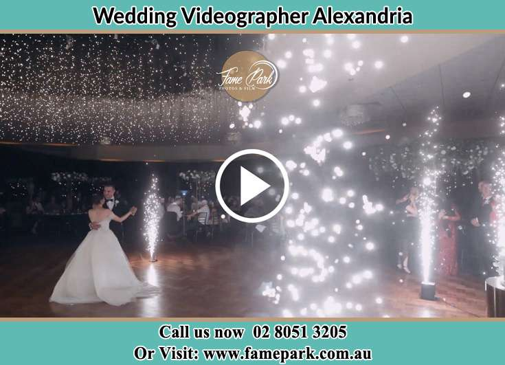Bride and Groom dance at the reception Alexandria NSW 2015
