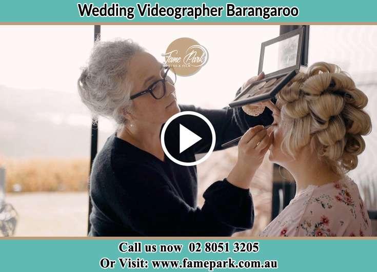 Bride getting ready Barangaroo NSW 2000