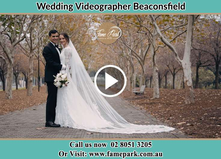 Bride and Groom holding at each other At the aisle Beaconsfield NSW 2015