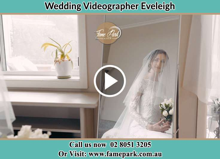 Bride in front of the mirror already prepared Eveleigh NSW 2015