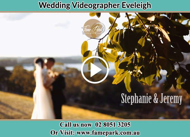Bride and Groom kissed at the hill Eveleigh NSW 2015
