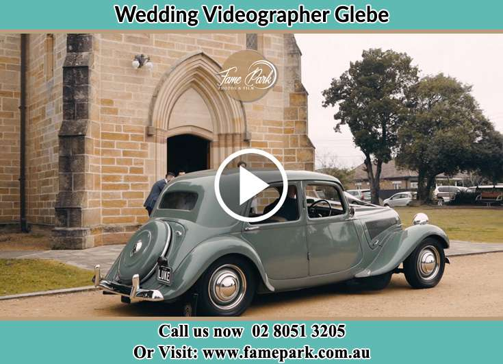 Bride walking at the stage Glebe NSW 2037