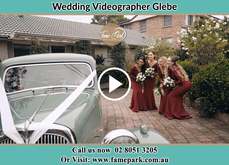Secondary sponsor near the bridal car Glebe NSW 2037