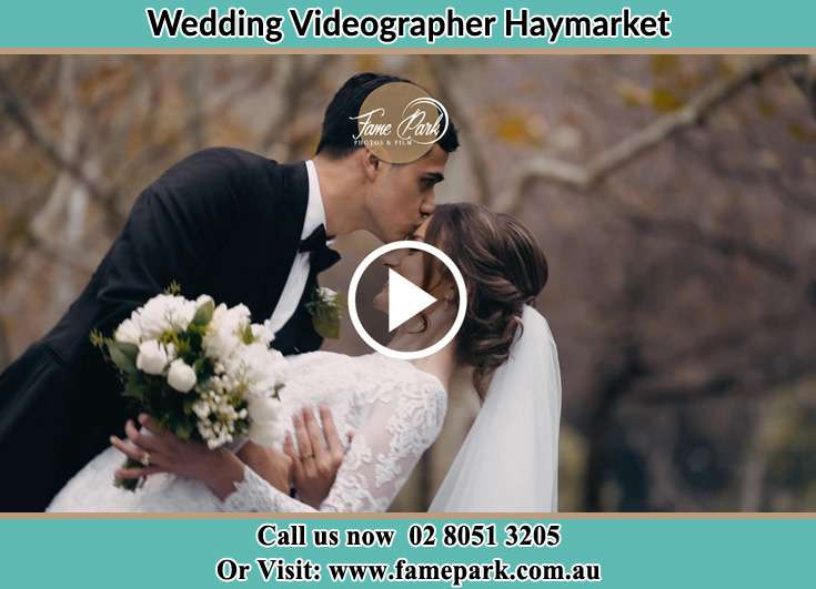 Groom kissed the Bride Haymarket NSW 2000