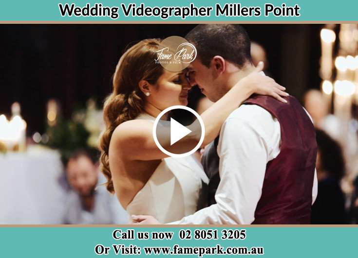 Bride and Groom at the dance floor Millers Point NSW 2000