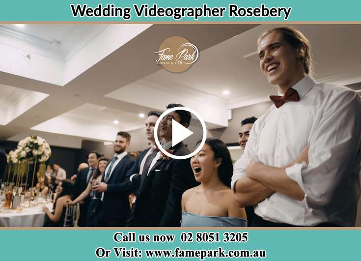 Bride and Groom at the ceremony Rosebery NSW 2018