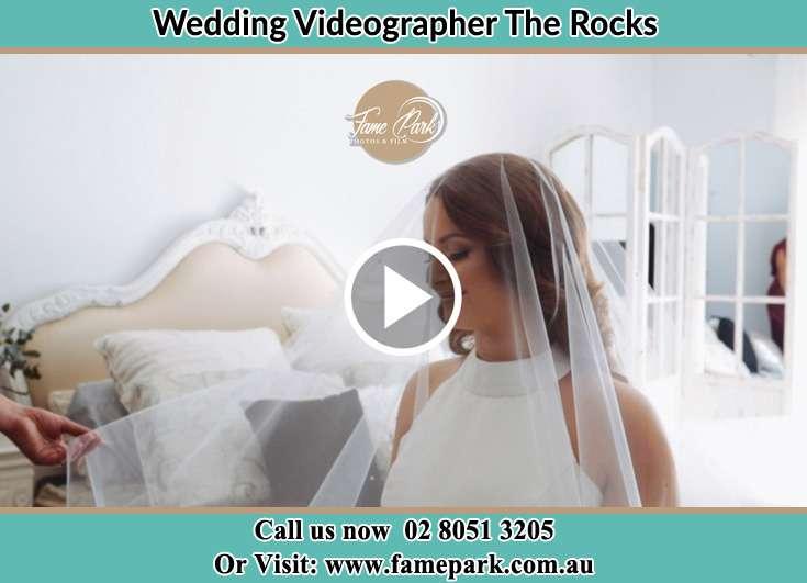 Bride getting ready The Rocks NSW 2000