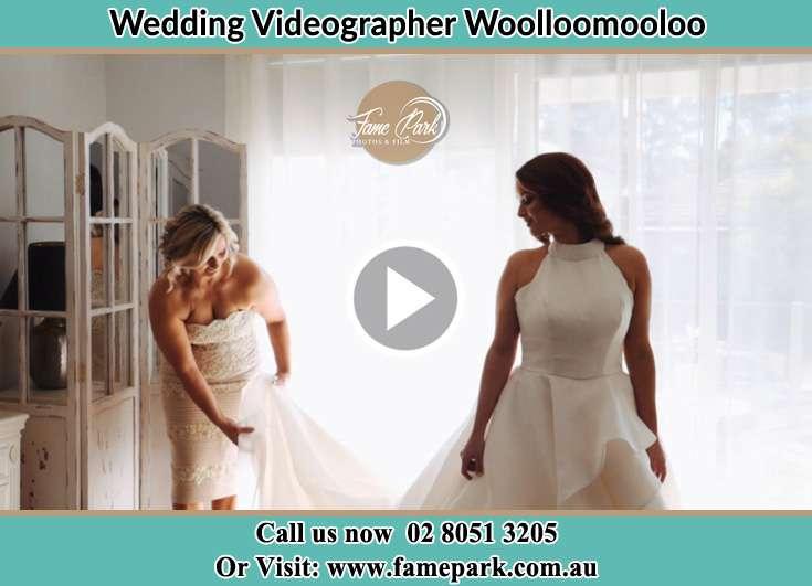 Bride getting ready Woolloomooloo NSW 2011