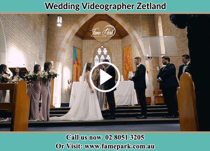 During a wedding ceremonyZetland NSW 2017