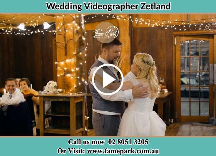 The newly weds dancing Zetland NSW 2017