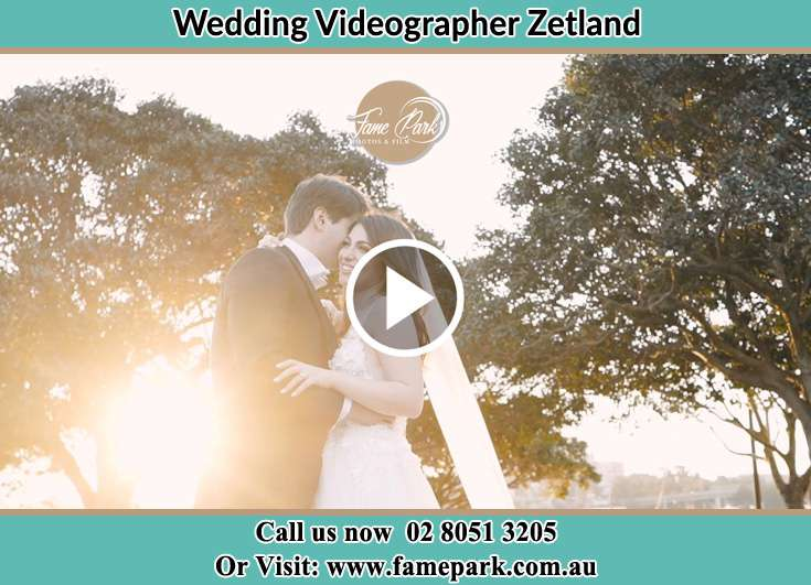 The Groom and the Bride hugging Zetland NSW 2017